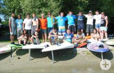 Gruppenbild Surfen 2015