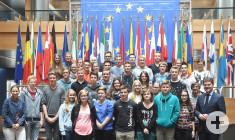 Im Europaparlament 2015 Gruppenbild