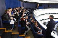 Im Europaparlament 2015