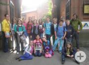 Die Klasse R6b auf Schloss Ortenberg