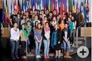 Besuch beim Europäischen Parlament in Straßburg